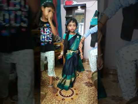Sanjana in Saree Funny day thumbnail