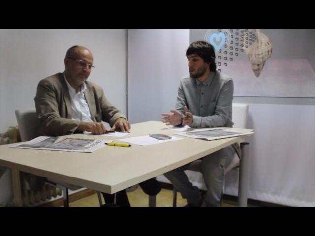 Abel Losada e Adrián Dios debaten sobre a tarifa eléctrica galega