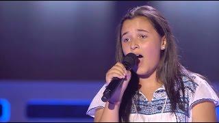 """Rocío: """"Sola"""" - Audiciones a Ciegas - La Voz Kids 2017"""