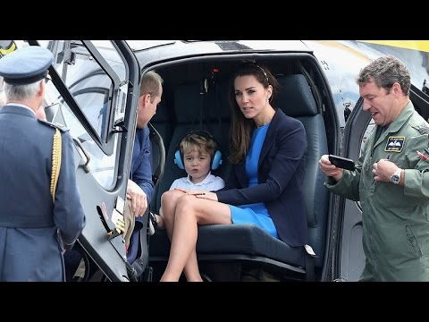 Prince George Throws a Temper Tantrum At Royal Air Show With Kate Middleton and Prince William
