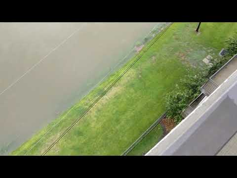 Houston's new lake courtesy of Harvey