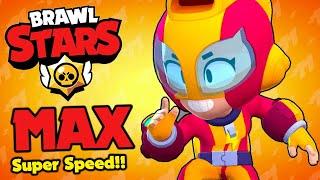 Brawl Stars - MAX Super Fast Speed Runner!!