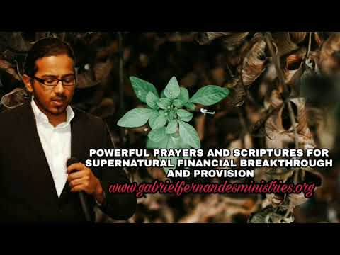 Powerful prayers and scriptures for supernatural Financial Breakthrough