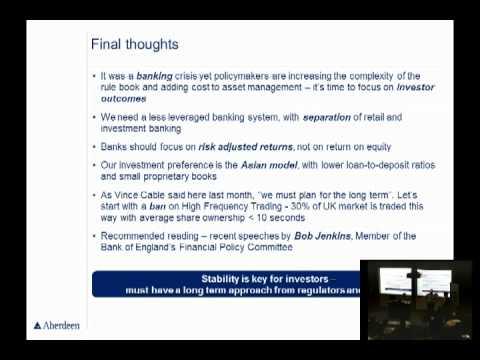 Martin Gilbert, Aberdeen Asset Management on Investment