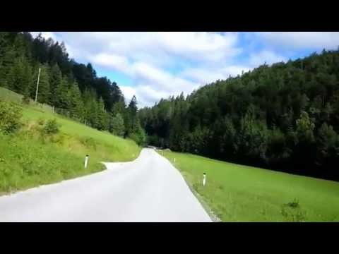 Road from Pernitz to Muggendorf ft. Yamaha TDM850