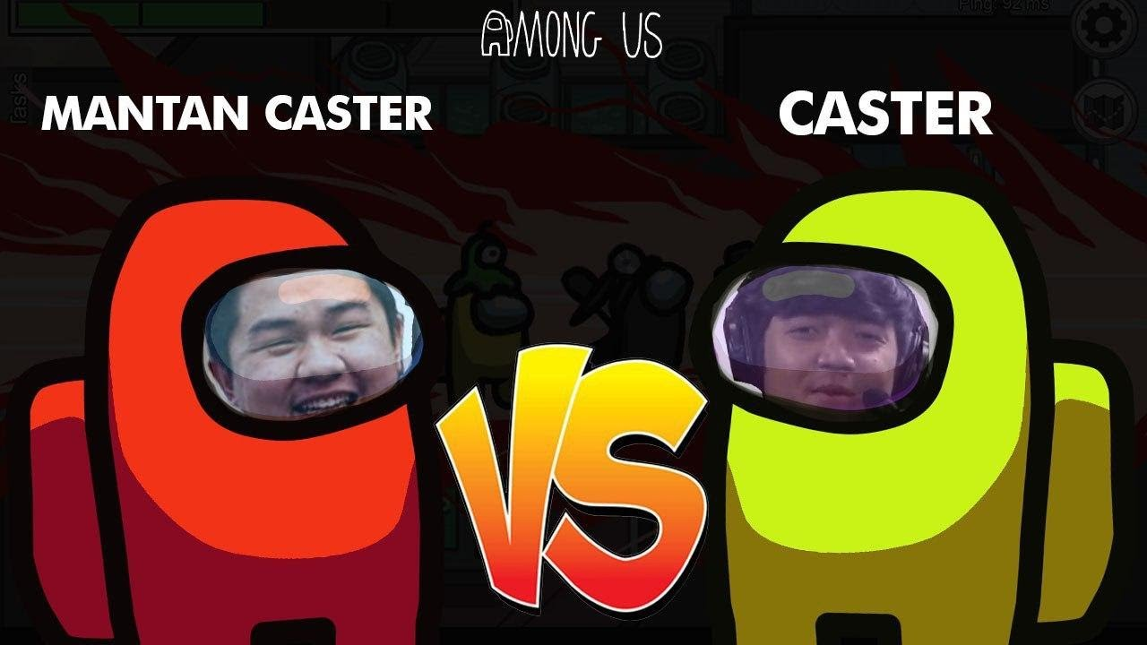 RIBUT SAMA MANTAN CASTER PMPL SEASON 1 !! AMONG US INDONESIA