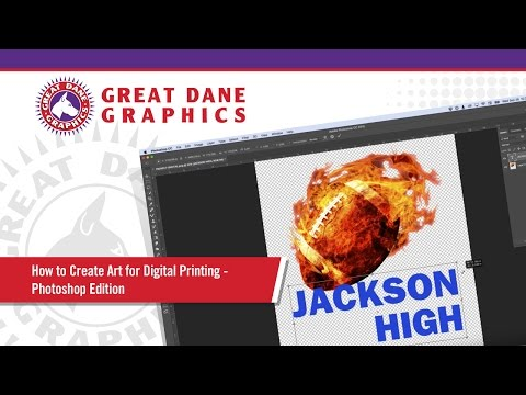 How to Create Art for Digital Printing - Photoshop Edition