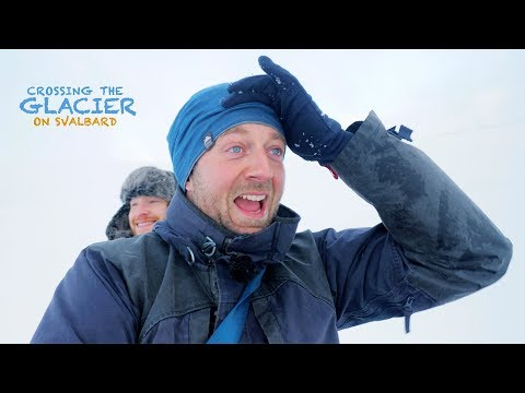 WILDLIFE PHOTOGRAPHY On SVALBARD Part 2 - Crossing The Glacier   With Thomas Heaton