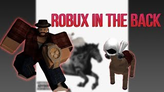 Robux à l'arrière - Parodie de Old Town Road par Lil Nas (Horses in the back) #TJ2X