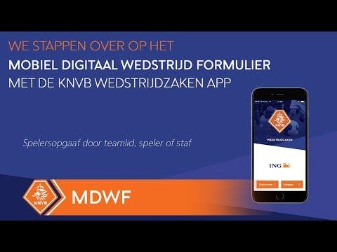 mDWF: instructievideo spelersopgaaf