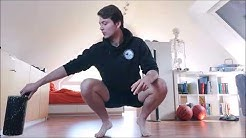 Faszientraining Unterkörper mit Coach Sebastian