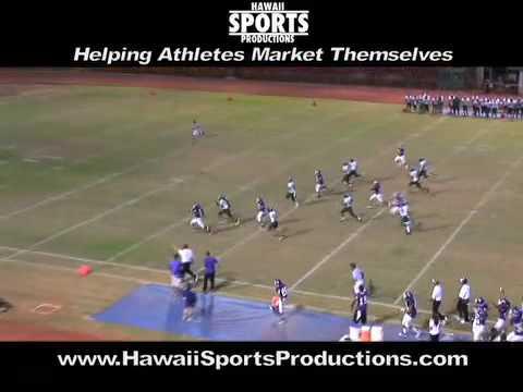 Aiea x Pearl City, Hawaii, Varsity Football, 8/29/09