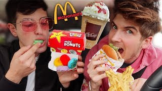 Download Letting The Person In Front Of Me Decide What I Eat!  (Fast Food) Mp3 and Videos