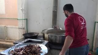 إعداد وجبات افطار صائم لأهالي حلب وريفها بالداخل السوري 1437