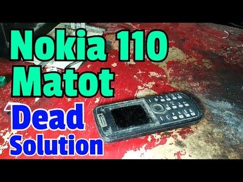 NOKIA 110 dead solution || Edisi HP Rongsokan ||