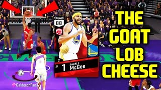 Ruby javale mcgee the goat! shaqtin a fool legend! nba 2k17 myteam online gameplay