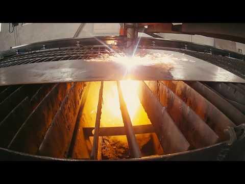 Видео Услуги резки металлопроката плазмой