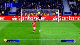 FIFA 19 - SL BENFICA X FC BARCELONA  ( DECISÃO PÊNALTIS FINAL UEFA CHAMPIONS LEAGUE ) 60FPS