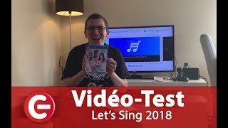 [Vidéo Test] Let's Sing 2018 - Switch, PS4, Wii