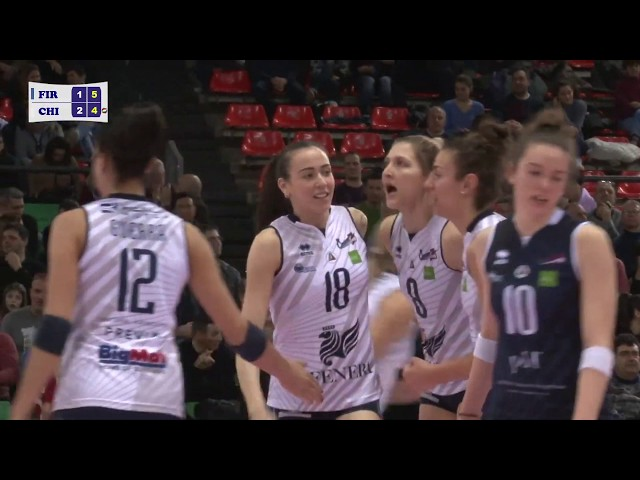 Highlights Il Bisonte Firenze vs Reale Mutua Fenera Chieri '76