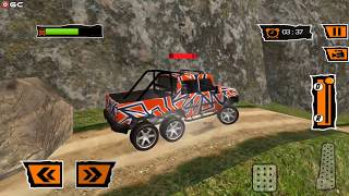 6x6 Offroad Jeep Drive - Truck Drive Car games - Android Gameplay FHD