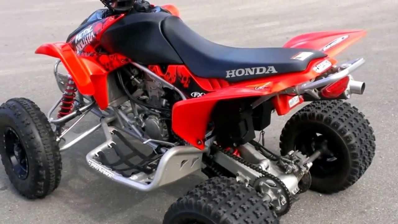 2007 Honda Trx450r For Sale Youtube