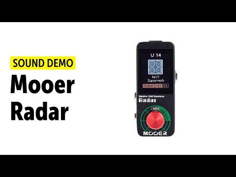 Mooer Radar Sound Demo (no talking)