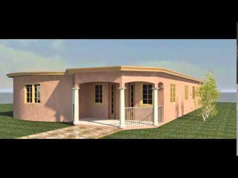 Contractor Trelawny Jamaica Modern 3D Design Blue Print Jamaica Architect