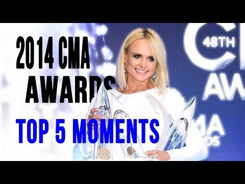 2014 CMA Awards - Top 5 Moments