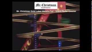 79751 Mr. Christmas Gold Label Worlds Fair Grand Roller Coaster