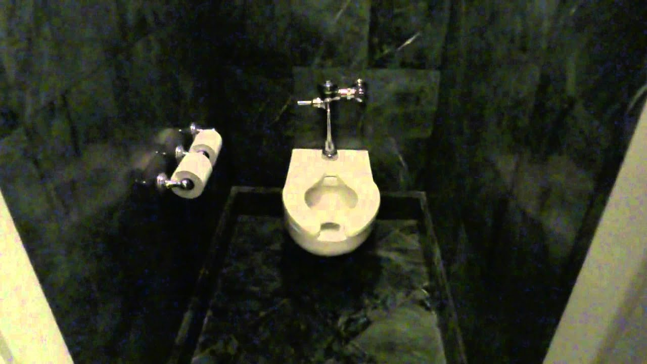 Bathroom tour american standard toilet and urinal ritz for Commodes bathroom tour