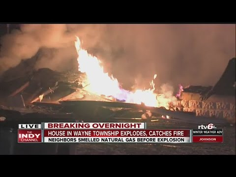 Wayne Township Fire Department: Overnight Explosion Levels Home