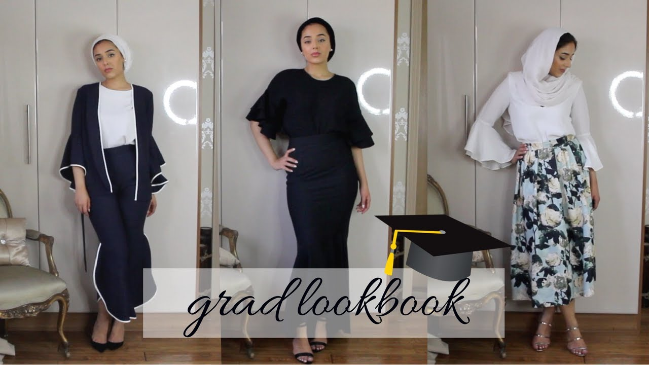 b3a244d4e42 GRADUATION LOOKBOOK - YouTube