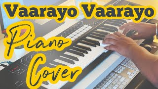 Vaarayo Vaarayo Piano Cover   Aadhavan   Harris Jayaraj   Suriya, Nayanthara   Adithyha Jayakumar