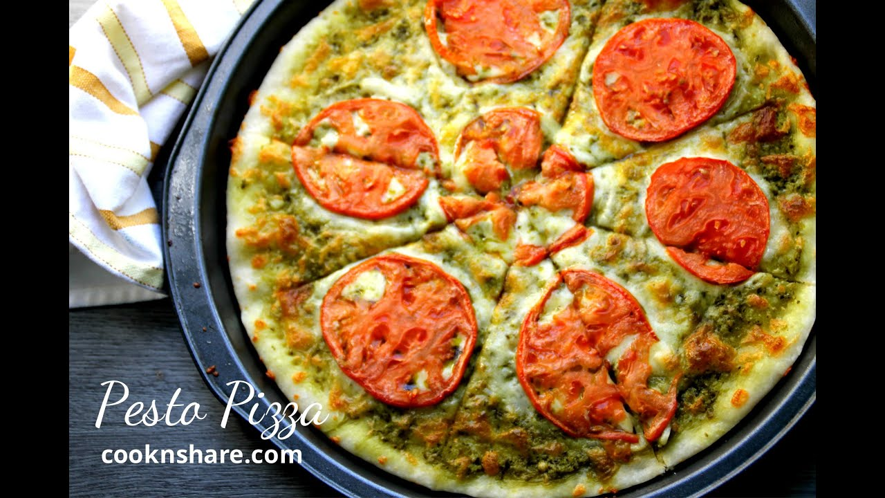 Pesto Pizza - YouTube