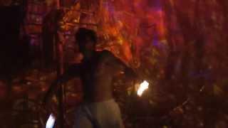 Majorca Pirate Show Fire Acrobats
