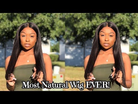 BOMB STRAIGHT OUT THE BOX!  Preplucked Prebleached Wig ft WOWAfrican  Lovevinni