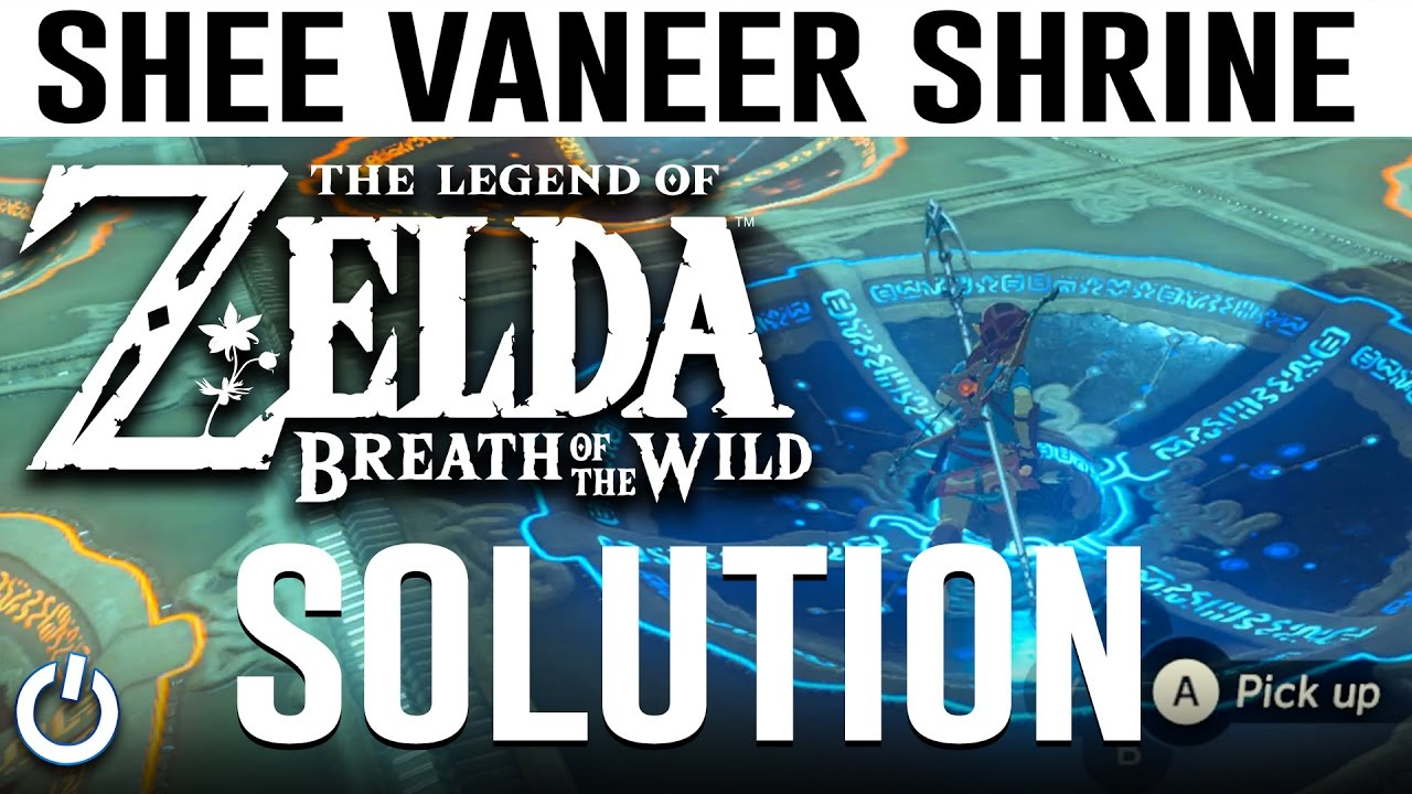 How To Solve Akh Va Quot Shrine Zelda Breath Of The Wild Tutorial Guide Youtube Shoot the orange switch in the distance with an arrow. how to solve akh va quot shrine