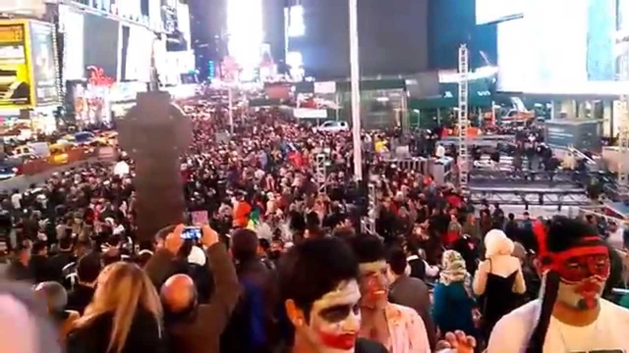 Halloween 2014 Na Times Square, New York   5° Dia