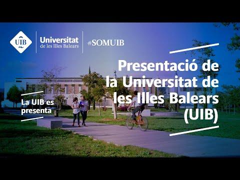 Presentació de la Universitat de les Illes Balears (UIB)