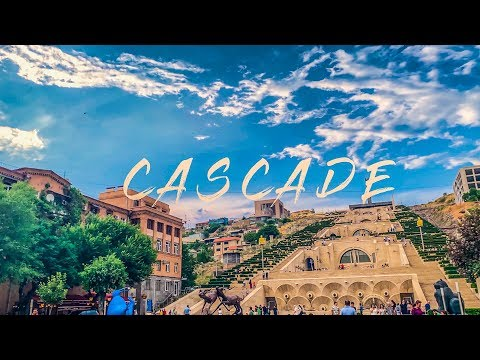 The Cascade Complex / Cafesjian Center For The Arts  Yerevan: 4K 60FPS