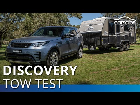 2020 Land Rover Discovery SD4 Review & Tow Test   Carsales