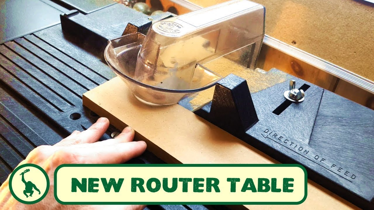 Embling And Testing My New Old Stock Vermont American Router Table