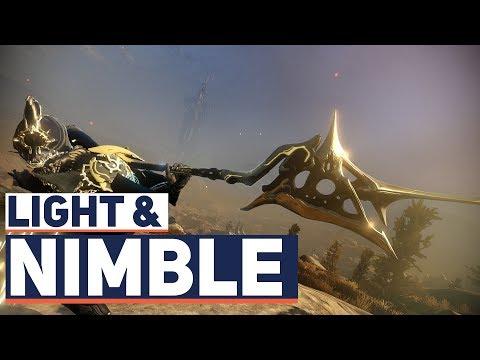 Warframe: Light. Nimble And Powerful