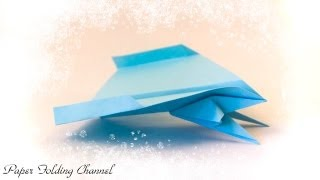 Origami Flying Jet Fighter