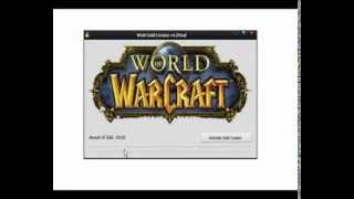 WoW Gold Creator v4.2Final (Hack) [HD] [Get up to 100.000 gold] [DL Link in descr.] READ Readme.txt!