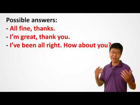 0035 [Functional English] How Have You Been? - Học Tiếng Anh Giao Tiếp Với Mr. Tri English