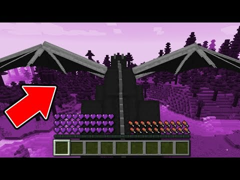 Minecraft: COMO SE TORNAR UM ENDER DRAGON NO MINECRAFT!