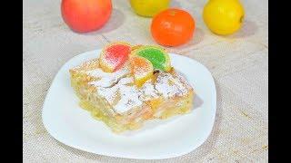 Цветаевский яблочный пирог пошаговый рецепт