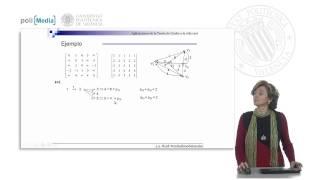 Teoría de Grafos en la vida real. Grafos ponderados. Alg. de Floyd-Warshall (modelización) .© UPV